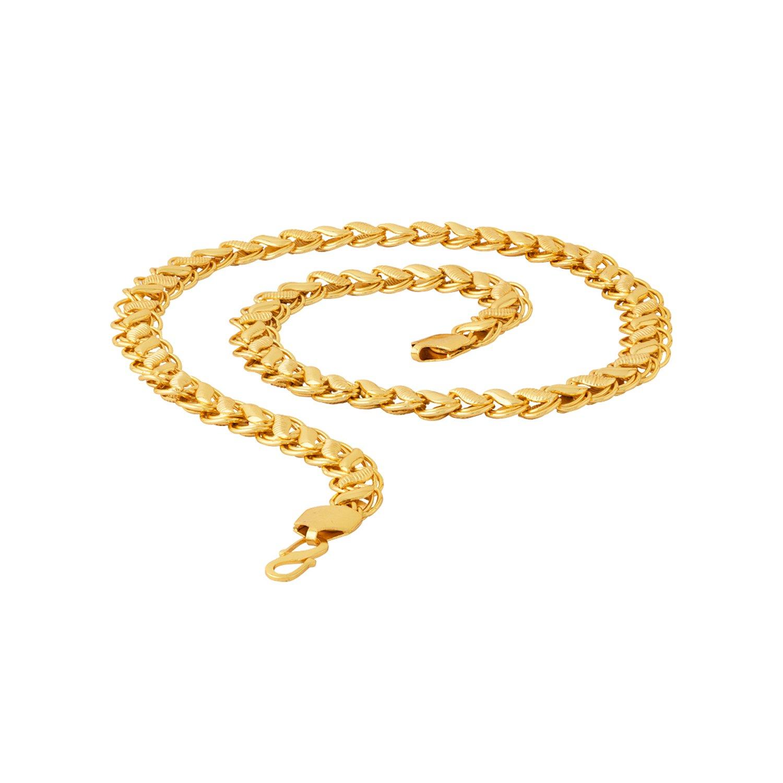 193cc178c6365 Voylla Chain Necklace for Men (Golden)(8907617317724)  Voylla Designer   Amazon.in  Jewellery