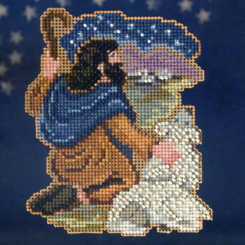 Benjamin - Nativity Trilogy - Beaded Cross Stitch Kit MH1933