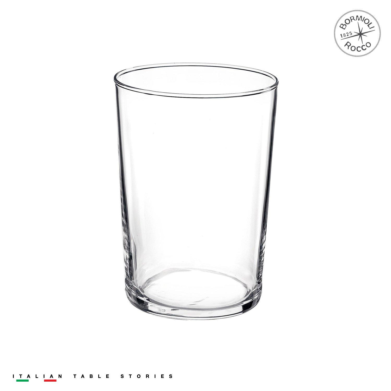 Bormioli Rocco 710870M04321751 - Juego de 12 Vasos de Vidrio Templado