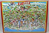 City of St. Louis Jigsaw Puzzles (The City Character Jigsaw Puzzle -- Fully Interlocking 504 Tripl-Thick Pieces) by Buffalo Games