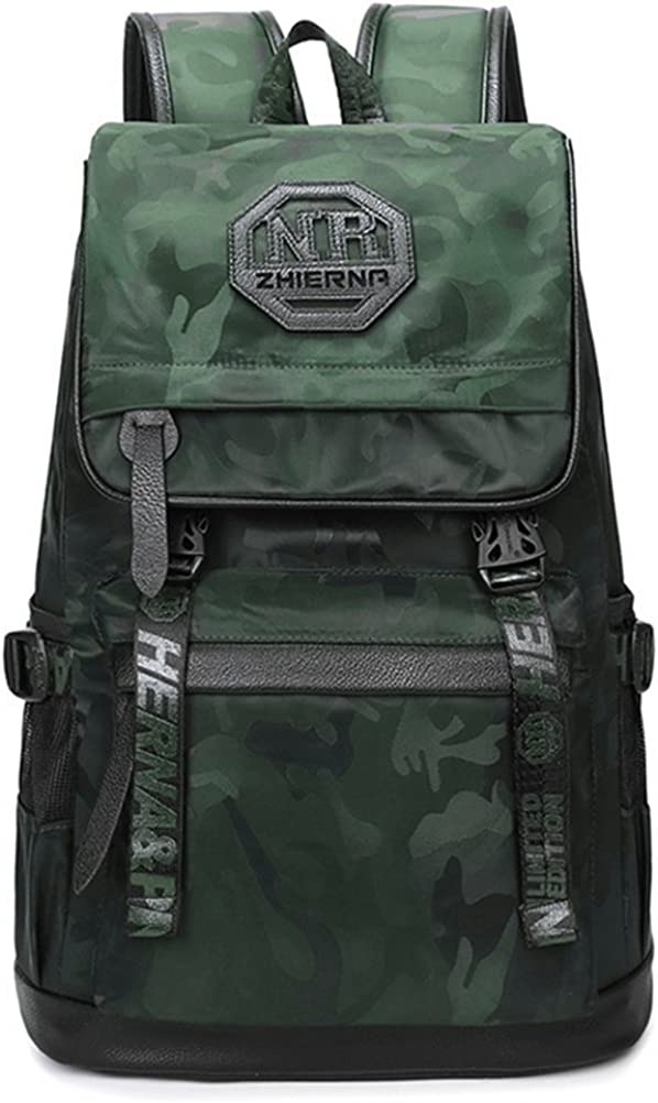 ZGSP Laptop Backpacks Oxford Casual Personality Shoulders Outdoor Travel Multi-Functional Computer Backpack