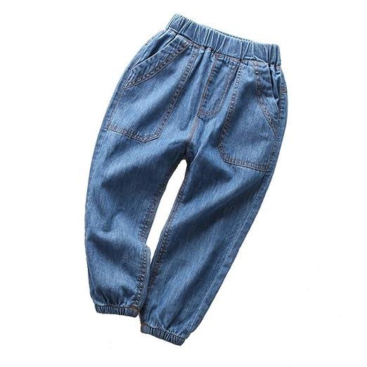 Los bebés de los pantalones ocasionales Pantalones de mezclilla ...
