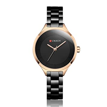 SPORTWATCHES Relojes Hermosos, Reloj Mujer Relojes Pulseras Mujer Acero Inoxidable Relojes Mujer Reloj Montre Femme