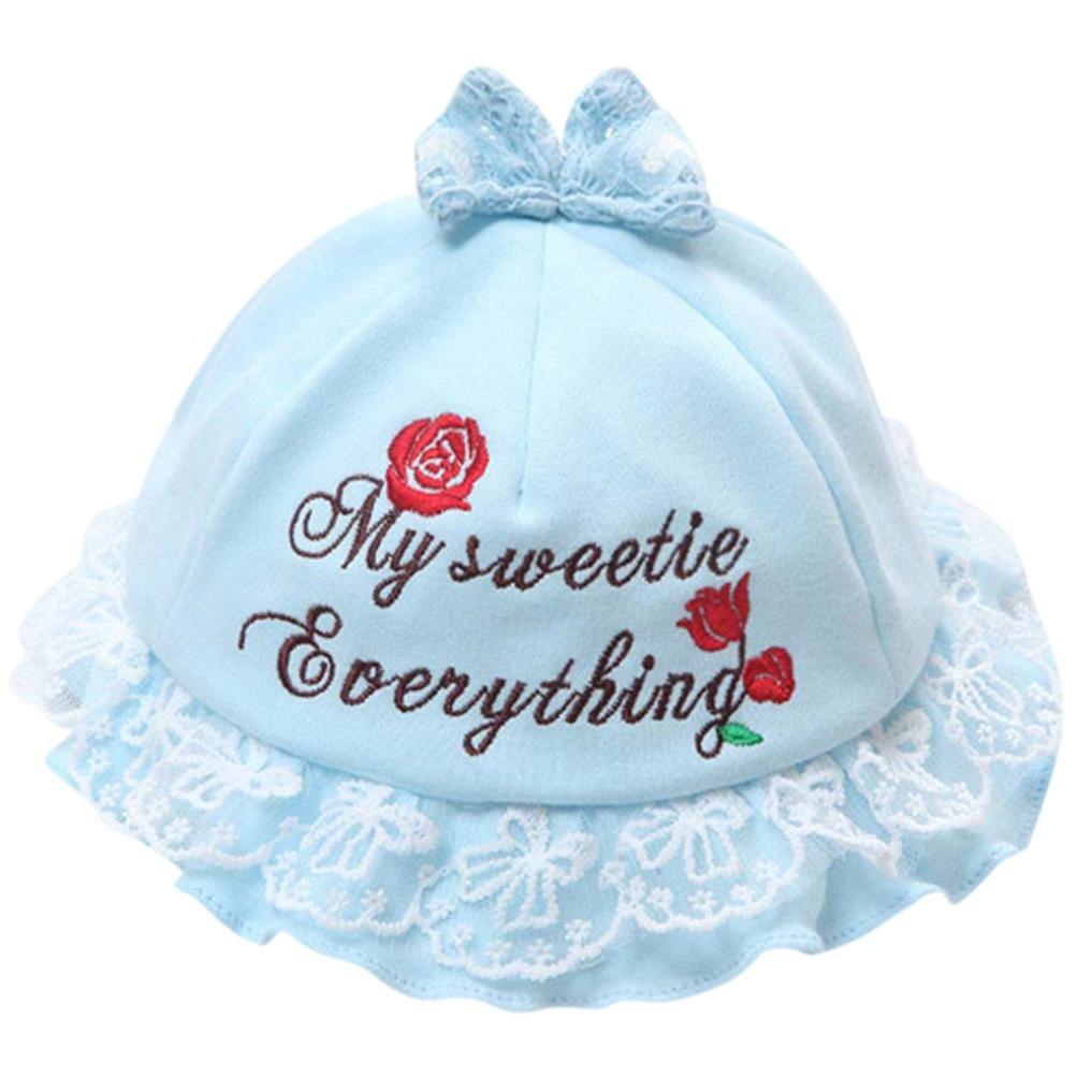 4375d7b0e4ecc Kolylong Toddler Baby Bucket Hat ✿ Kids Girls Lovely Floral Rose Pattern  Cap Breathable Sun Hat Fisherman s Hat Age 1-5 Years