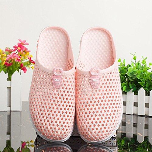 Cómodo Las mujeres caseras del verano de la manera refrescan los deslizadores Zapatos ocasionales al aire libre de la cueva de la playa de Baotou (tamaño opcional) Aumentado ( Tamaño : 38(37) )
