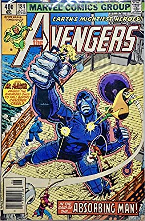 1979 - Marvel - The Avengers #184 - Vintage Comic Book