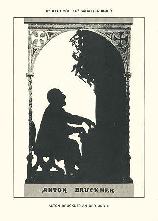 Edvard Grieg Otto Bohler Silhouette Vintage Classical Music Poster