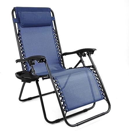 Oversized Zero Gravity Chair Blue