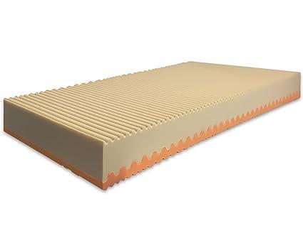 Marcapiuma - Colchón viscoelástico Individual Memory Bio 80x180 Alto 20 cm - Sunrise Plus - H2 Medio/Firme 5 Zonas Producto Sanitario CE Funda desenfundable ...