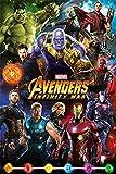 AMBROSIANA Avengers: Infinity War Characters Maxi Poster, Carta, 91.5x 61x 0.03cm