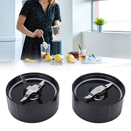 2Pcs Extractor de Jugo Licuadora Cuchilla Base Set Tapa Inferior ...