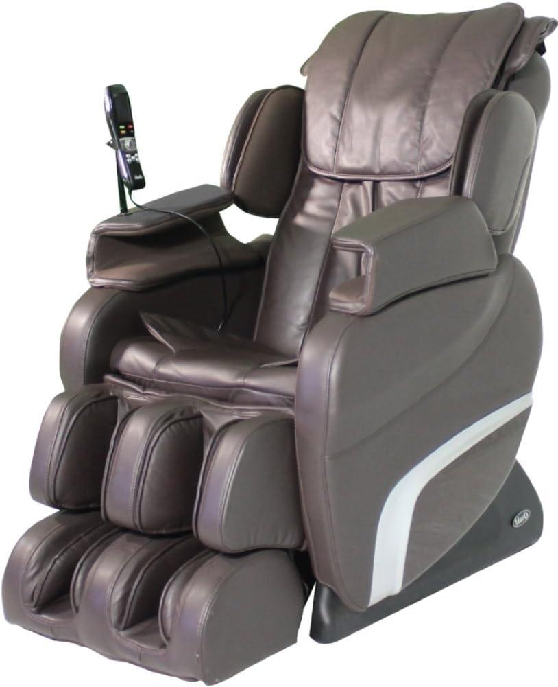 Titan TI-7700R L-Track, Hip Seat Vibration Massage Chair Brown
