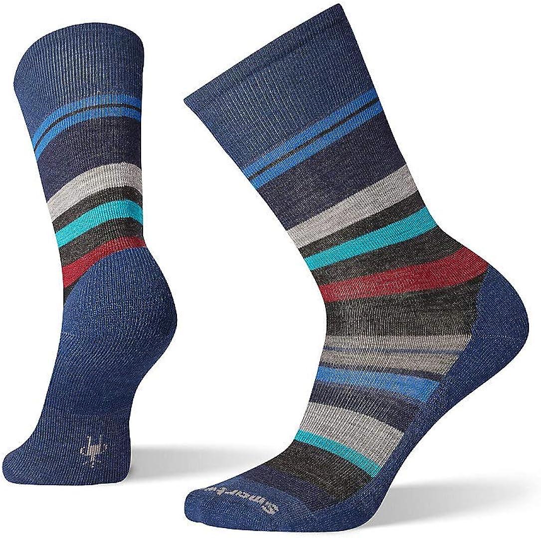 Smartwool PhD Outdoor Light Crew Socks - Men's Saturnsphere Wool Performance Sock