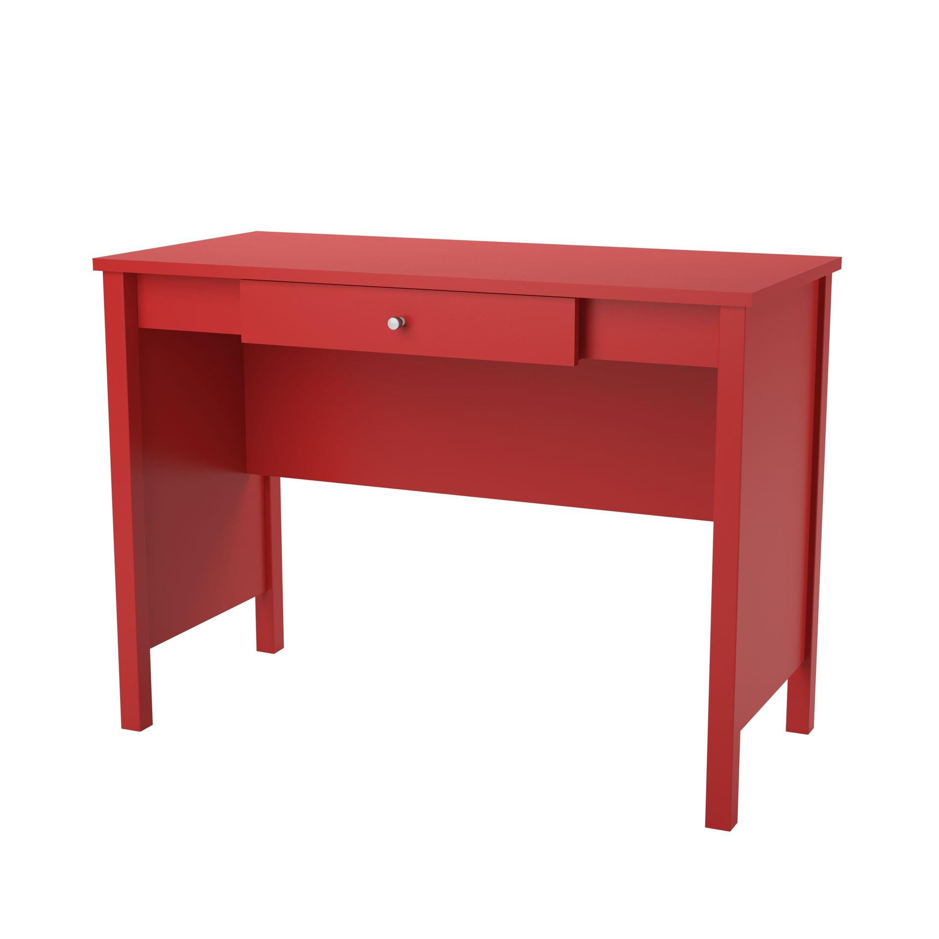 Altra Carrington Desk, Ruby Red - Color: Ruby Red