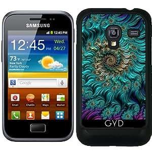 Funda para Samsung Galaxy Ace Plus S7500 - Aqua Remolino by StevePurnell