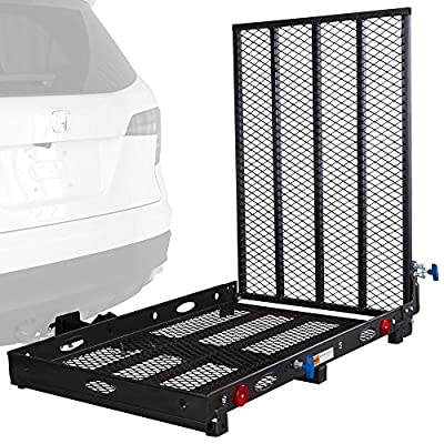Rage Powersports SC400 Mobility and Equipment Cargo Carrier with ramp