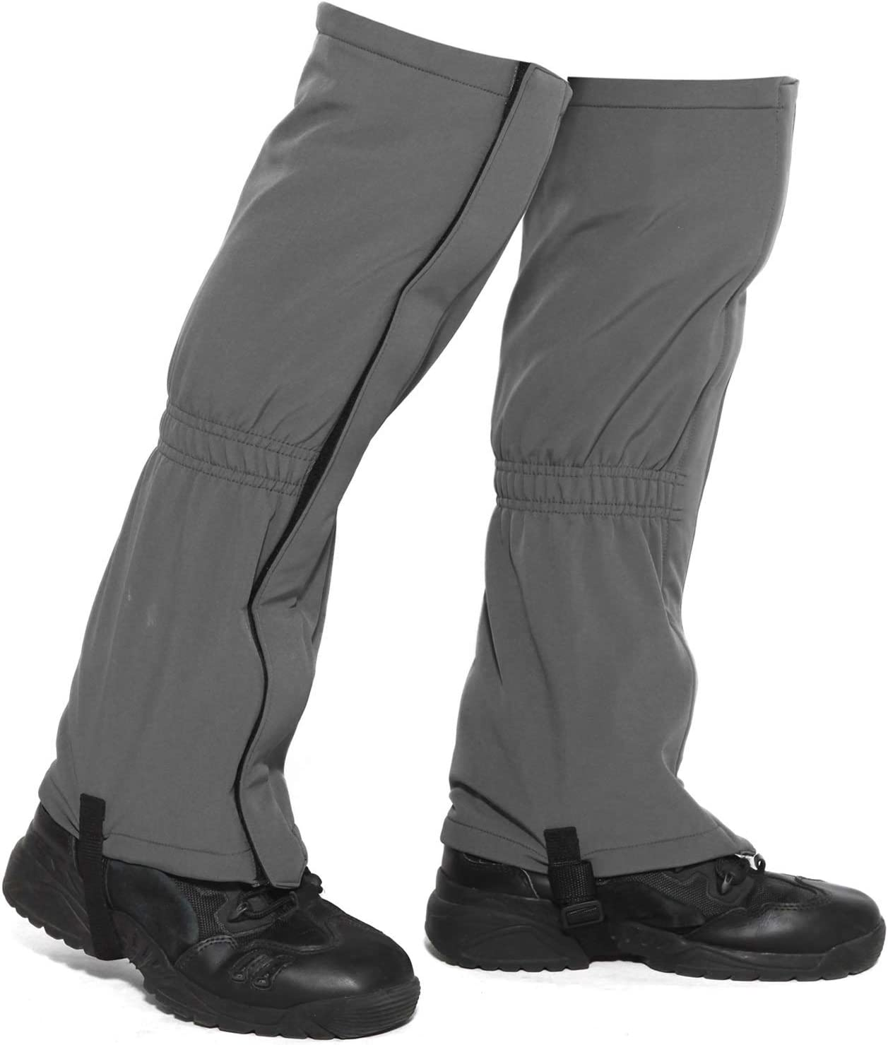 MERFUNTO Leg Gaiters for Hiking Waterproof Knee High Snow Gaiters for Winter