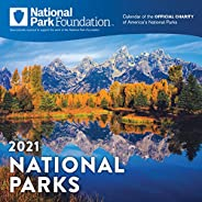 2021 National Park Foundation Wall Calendar: A 12-Month Nature Calendar & Photography Collection (Monthly