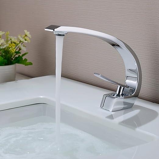 BONADE Waschtischarmatur Wasserhahn Chrom Bad Armatur ...