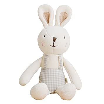 Amazon Com Blessnature 100 Organic Stuffed Animal Baby Doll Tri