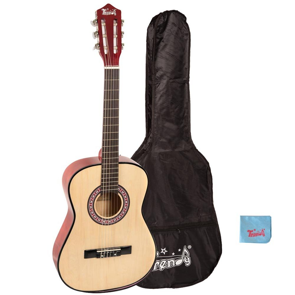 Trendy 36'' Classical Guitar(3/4 Size), Package, Basswood, Nature