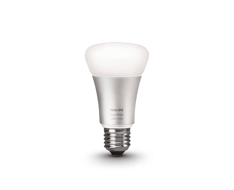Philips Hue LED Lampe E27 Erweiterung 2. Generation, dimmbar, 16 Mio ...