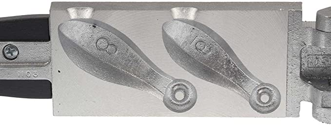 BANK SINKERS MADE WITH A DO-IT-MOLD 100 HANDMADE 3 OZ