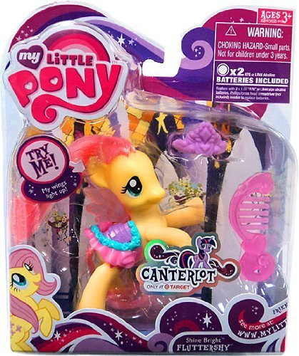 My Little Pony Canterlot Exclusive Basic Figure Shine