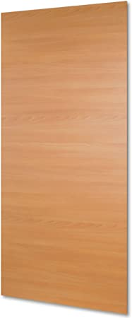 inova Star Madera de puerta corredera hojas haya 880 x 2035 mm puerta de hojas de puerta de madera de hojas Puerta Corredera: Amazon.es: Hogar