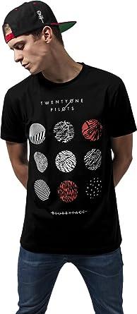 MERCHCODE Twenty One Pilots Pattern Circles tee Camiseta, Niños: Amazon.es: Ropa y accesorios