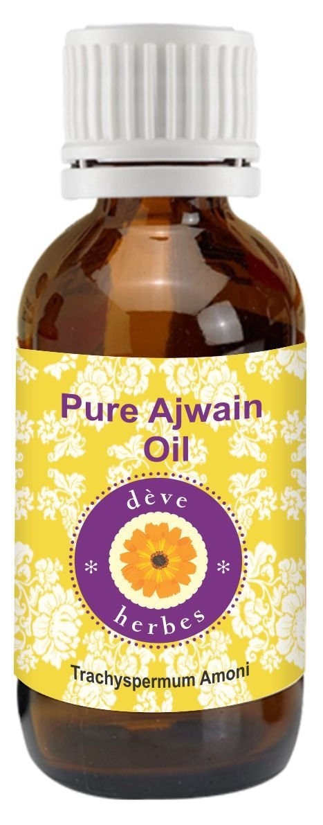 Pure Ajwain Essential Oil 30 ml (trachys permum Ammi), 100% Natural Therapeutic Grade