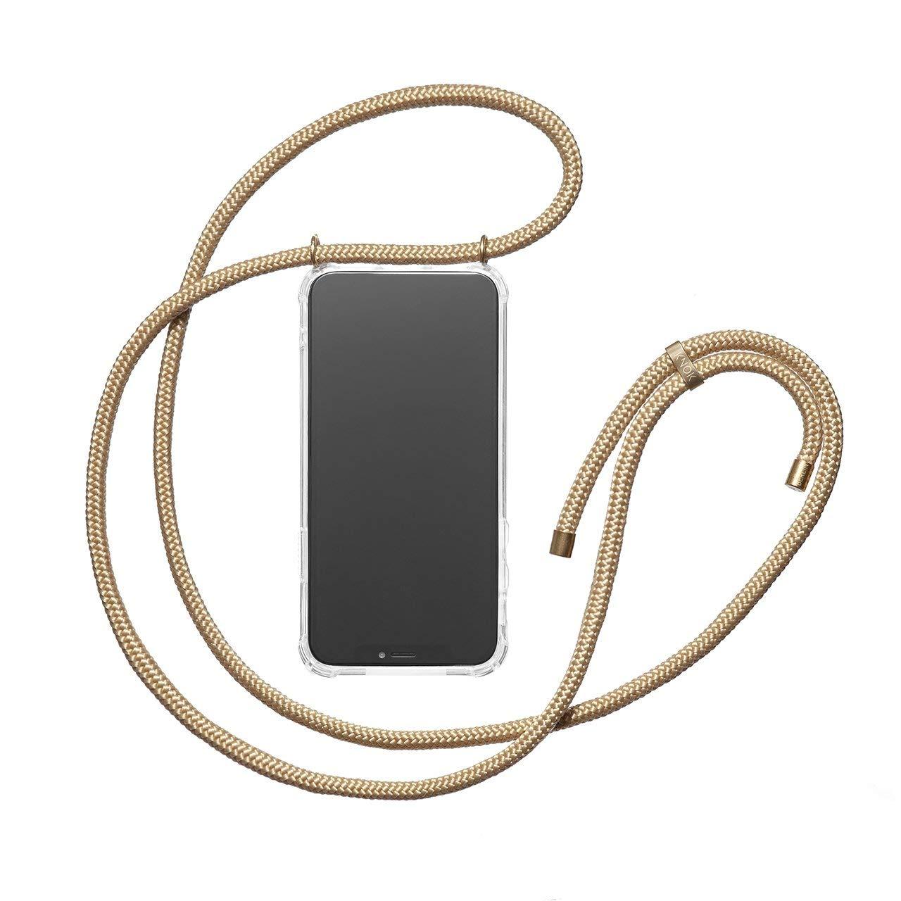 KNOK Funda Colgante movil con Cuerda para Colgar Samsung S9 Plus con Cordon para Llevar en el Cuello Carcasa de m/óvil iPhone Samsung Huawei con Correa Colgante Hecho a Mano en Berlin Case