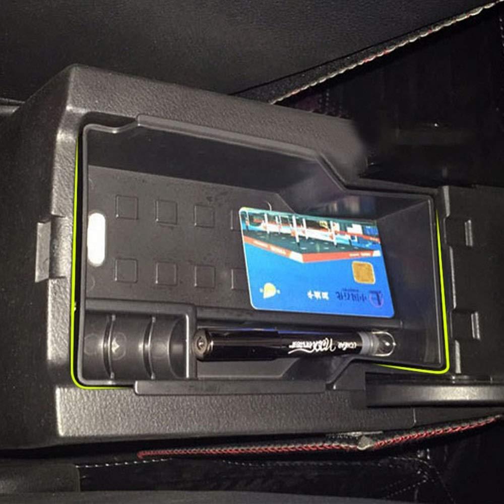 Scatola di immagazzinaggio Reposabrazos Caja de almacenamiento Consola central Apto for Suzuki SX4 S-Cross Bin Bandeja Soporte Caso Organizador del contenedor del coche