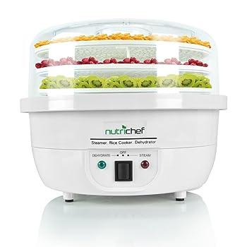 NutriChef PKFDSRC10WT Food Steamer