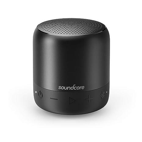 Soundcore Altavoz portátil Mini 2 de Anker, con protección de Agua Clase IPX7, Tiempo