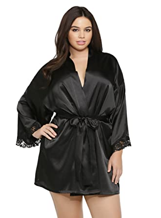 17d55c226b5 Torrid Satin Robe at Amazon Women s Clothing store