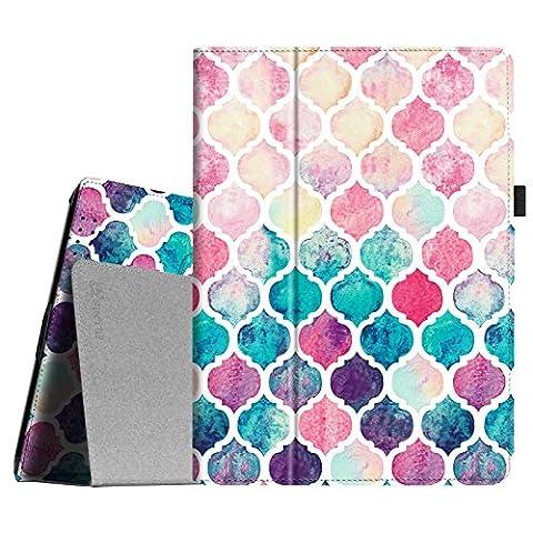 Fintie iPad 2/3/4 Case - Slim Fit Folio Case with Smart Cover Auto Sleep / Wake Feature for Apple iPad 2, iPad 3 & iPad 4th Generation with Retina Display - Moroccan (Ipad 4 Folio)