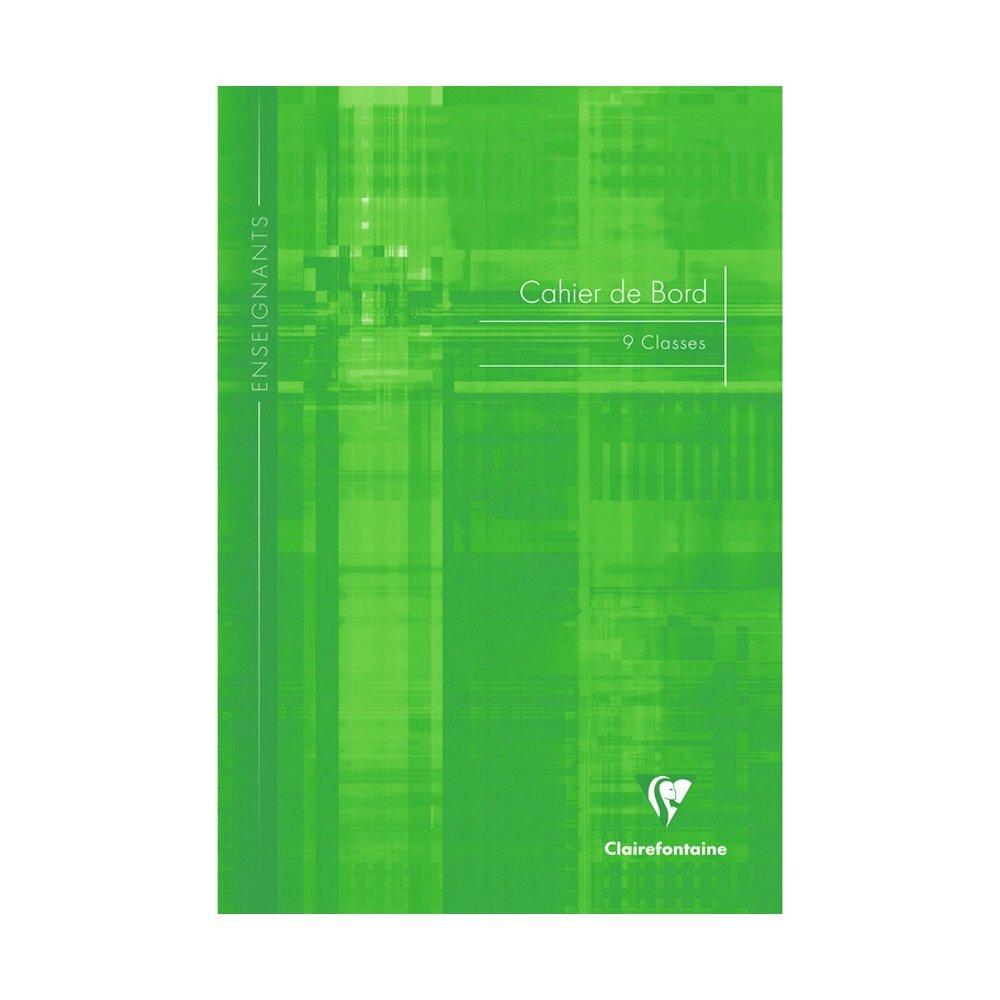 Clairefontaine: Profesores cuaderno de transici/ón/ /60/p/áginas/ /verde /A4/ /9/clases/