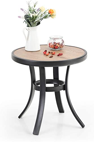PHI VILLA 19″ Small Round Side Table
