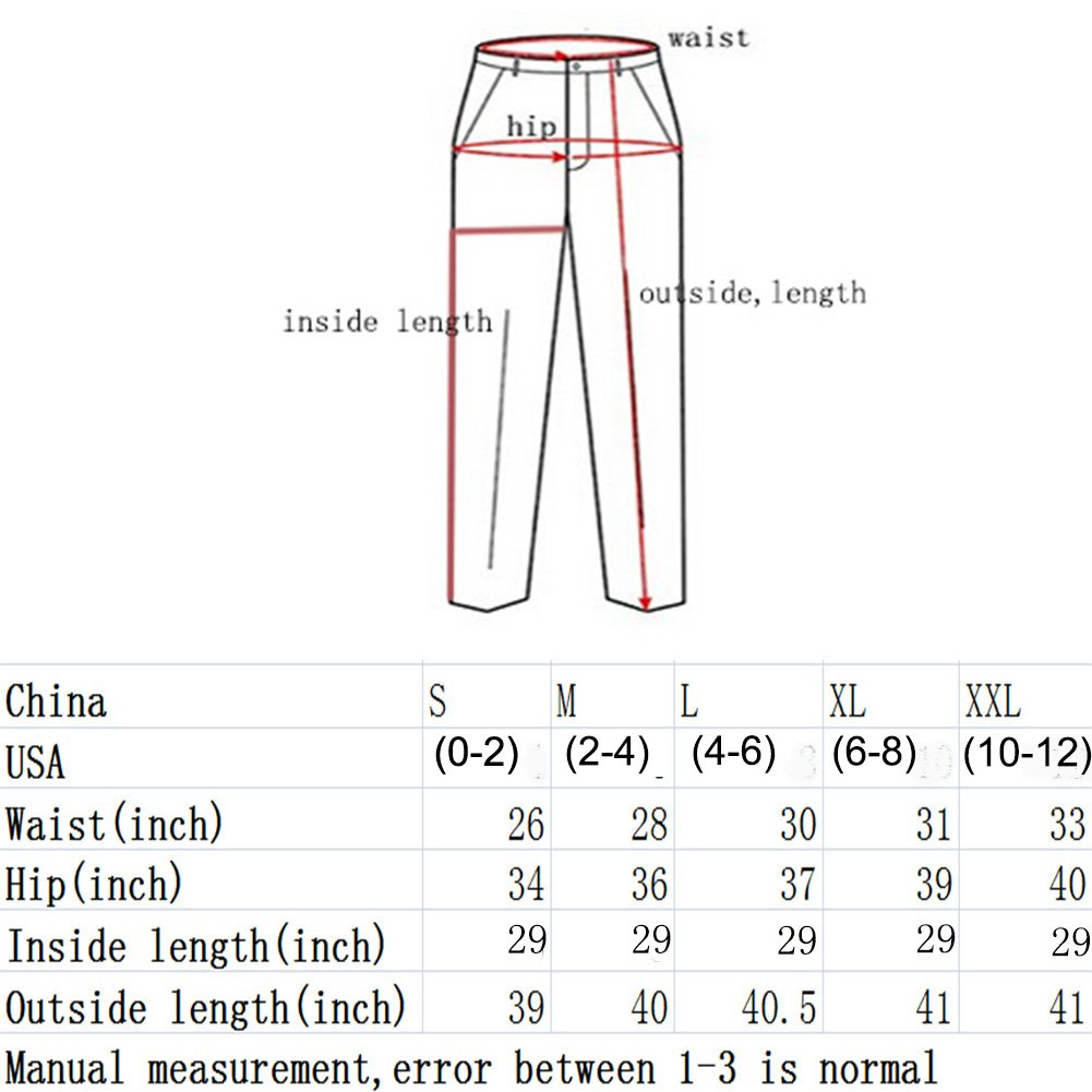VICVIK Skinny Denim Sexy Hole Jeans for Women Flare Tron Stylish Rock Roll Elastic Jean Pants (L, Light Blue) by VICVIK (Image #6)