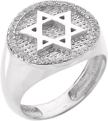bague homme juif