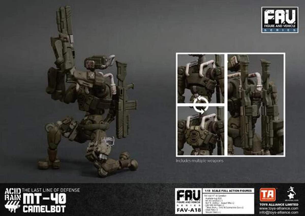 "Acid Rain 3.75/"" FAV-A18 MT-40 Camelbot Robot Soldier New"
