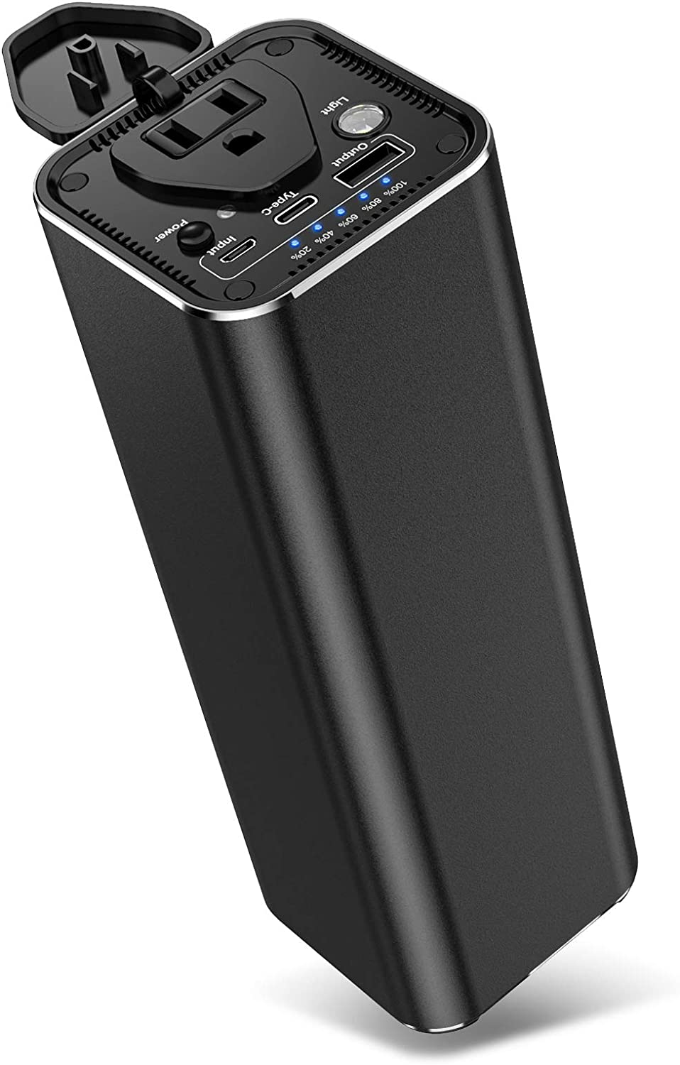 Portable Charger 31200mAh Power Bank, 100W AC Outlet Laptop Power Bank Battery Pack, External Battery Pack for iPhone, Samsung, HP, Dell, Lenovo, MacBook