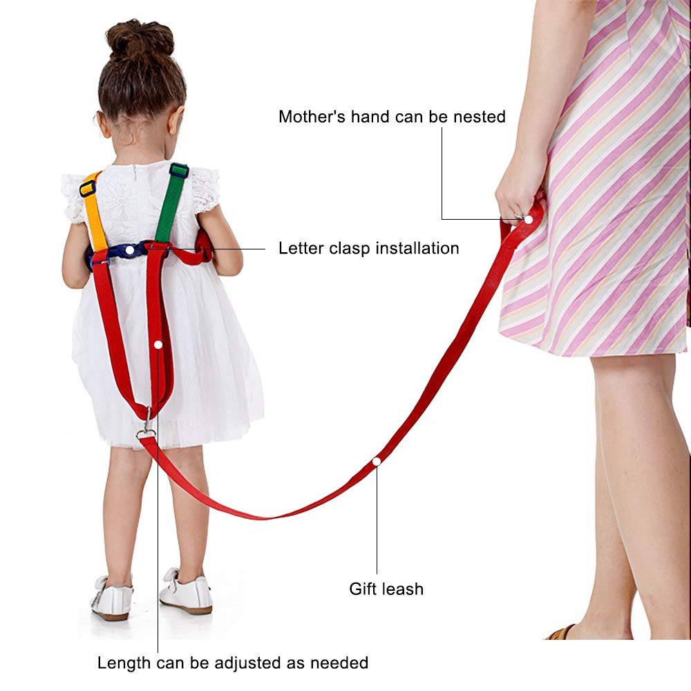 hinataa Sicherheit Leine Antiverlust 2/in 1/Baby Sicherheit Walking Geschirr Kind Kleinkind Kind Seil Leine WALKING Hand G/ürtel