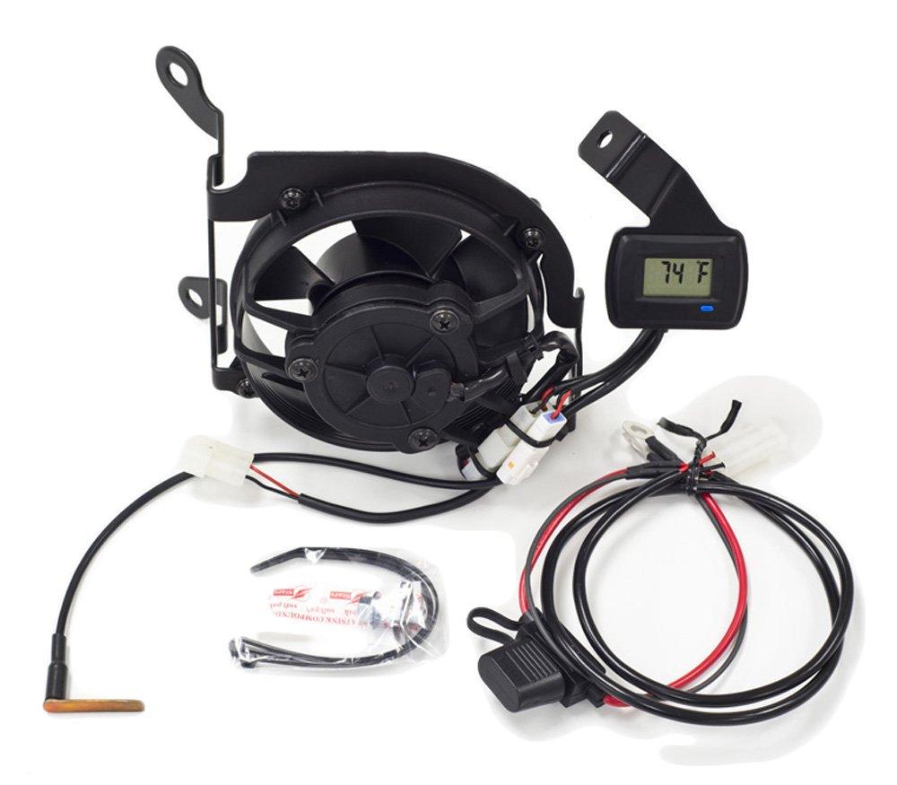 Trail Tech 732-FN11 TTV Temperature Switching Yamaha Digital Fan Kit, 6 x 5 x 4-Inch