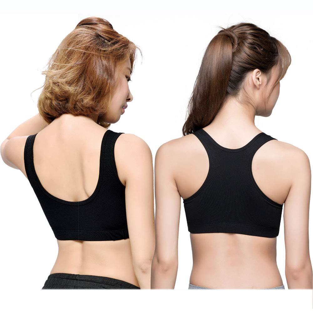 Black(1)+Black(2) Women Sports Bras  High Impact Workout Gym Activewear Bra