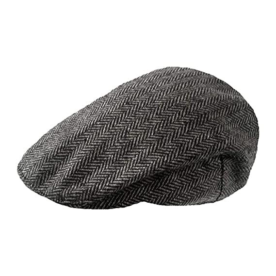 e8311d37a025 TOSKATOK Mens Tweed Flat Caps  Amazon.co.uk  Clothing