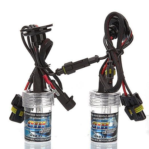 10 opinioni per SODIAL (R) 2X Xenon HID Kit Car Auto lampadina del faro della luce della