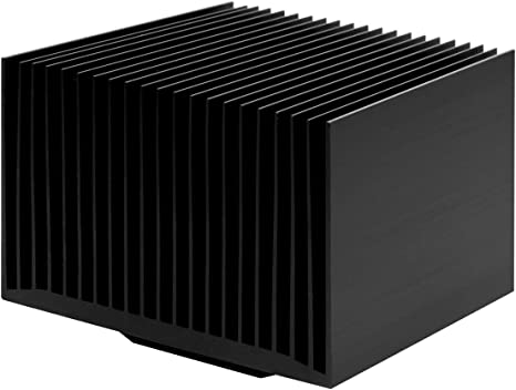 Amazon Com Arctic Alpine Am4 Passive Silent Cpu Cooler For Amd Socket Am4 Easy Installation And Long Service Life 99 X 70 Mm Black Computers Accessories