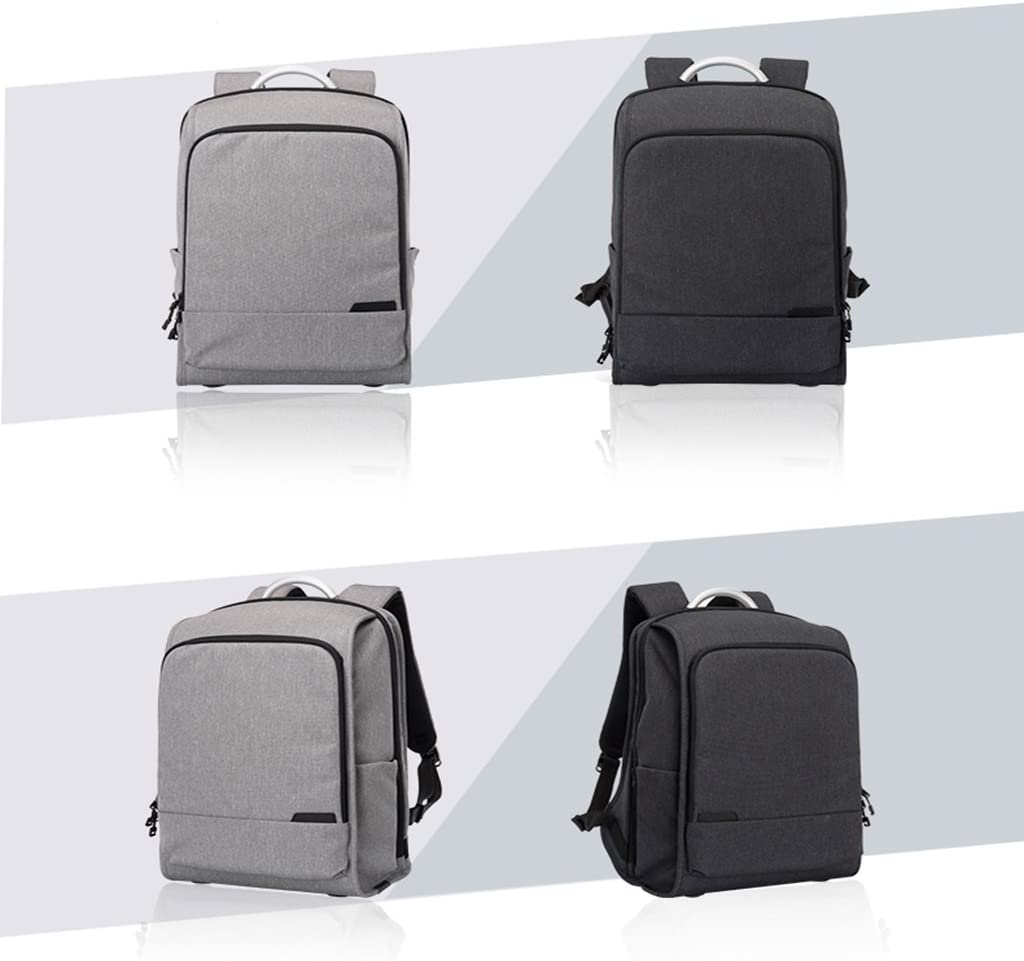 Color : Light gray CozyHome AAA Anti-theft backpack men and women business bag large capacity leisure travel backpack